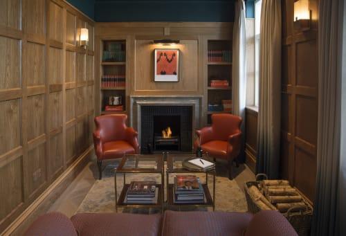 Interior Design by Carden Cunietti seen at Bicester Village, Bicester - Bicester Village VIP Lounge