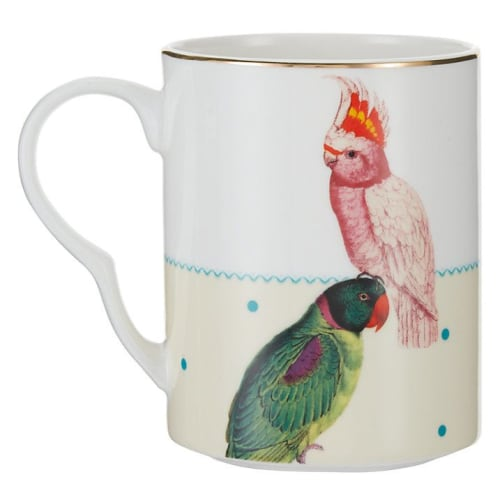 Cups by YvonneEllen seen at Ménagerie, Ljubljana - Parrot and Cockatoo Mug