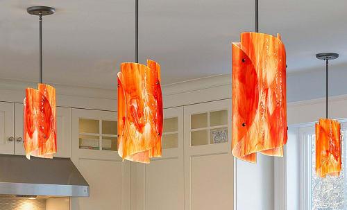 Pendants by Derek Marshall Lighting LLC seen at Private Residence, New York - Derek C.  Marshall