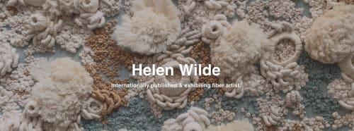 Helen D Wilde - Ovo Bloom - Wall Hangings and Art