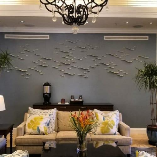 Sculptures by Tabbatha Henry Designs seen at The Ritz-Carlton Club, St. Thomas - Las Olas