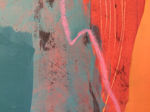Paintings by Tonia Gunstone seen at Private Residence - Unravelling