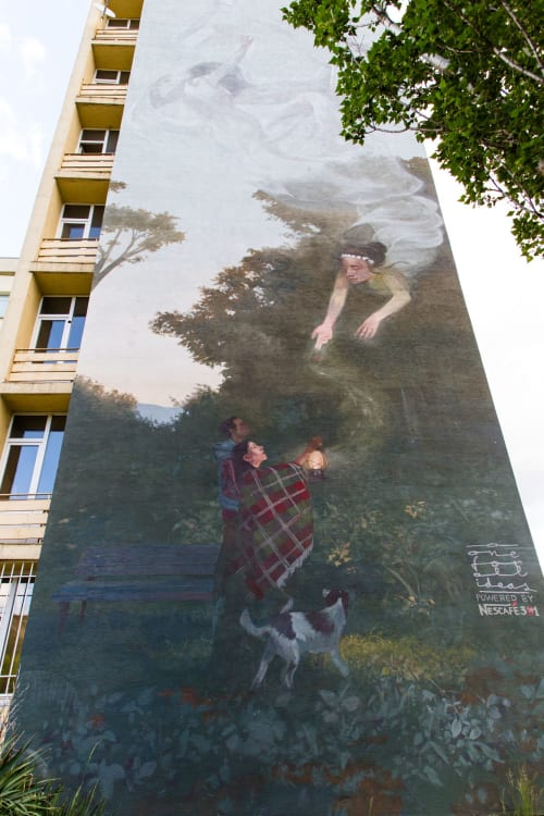Architecture by 140 ideas / One for all ideas seen at Блок 36, Sofia - Mystical Enlightenment