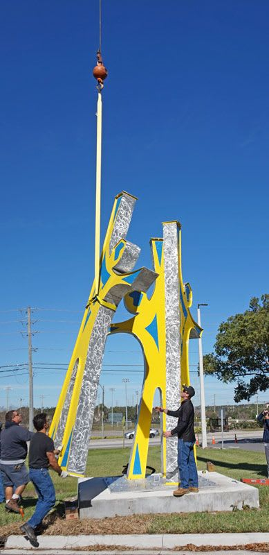 Public Sculptures by Gus Lina Fine Art seen at 2465 Drew St, Clearwater - Reaching for Knowledge - Sculpture