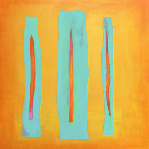 Paintings by Kat Evans seen at Private Residence, Meppen - Color Awakenings X