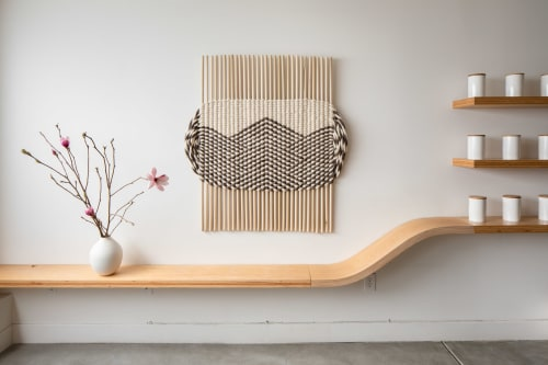 Wall Hangings by Britt-Marie Alm Designs seen at Private Residence, San Francisco - Valley Lines