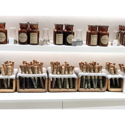 Apparel & Accessories by Studio Enti seen at T Totaler, Sydney - Tea Racks