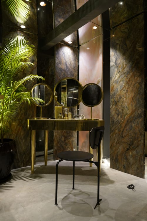 Interior Design by Scarlet Splendour seen at The Quarry Gallery, Mumbai - The Quarry Co:Lab