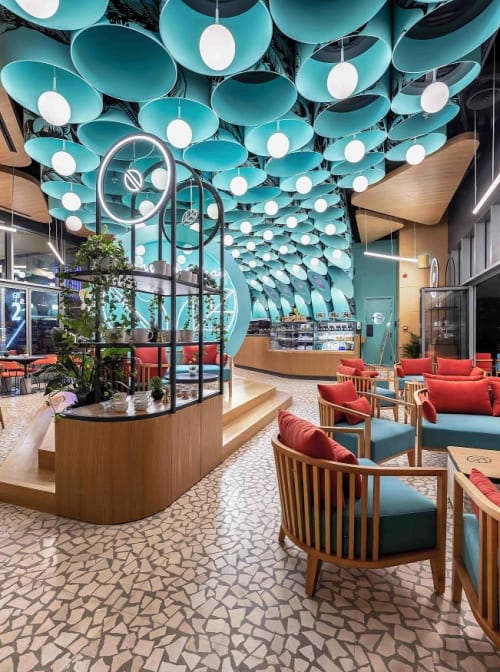 Interior Design by 4SPACE Design seen at DIFC, Dubai - Kava & Chai