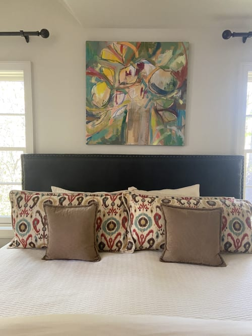 Paintings by Love, Louise Designs seen at Private Residence - Abstract Floral
