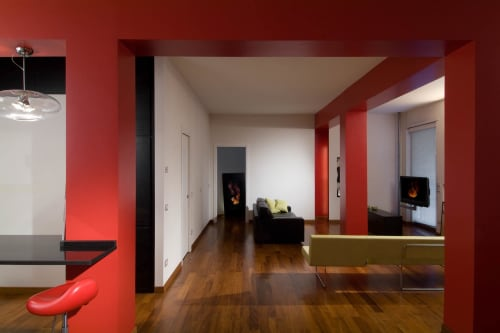 Architecture by Carola Vannini seen at Private Residence, Rome - X Loft Project