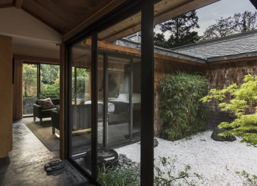 Interior Design by SALT + BONES seen at Gaige House + Ryokan, Glen Ellen - Interior Design