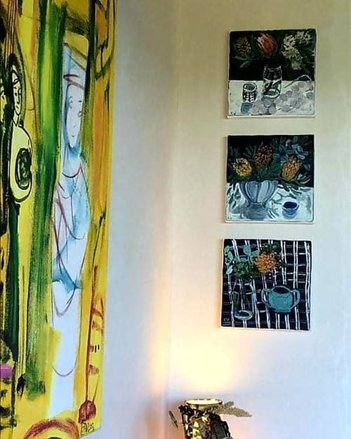 Paintings by Kate Vella seen at Private Residence, Sydney - Paintings