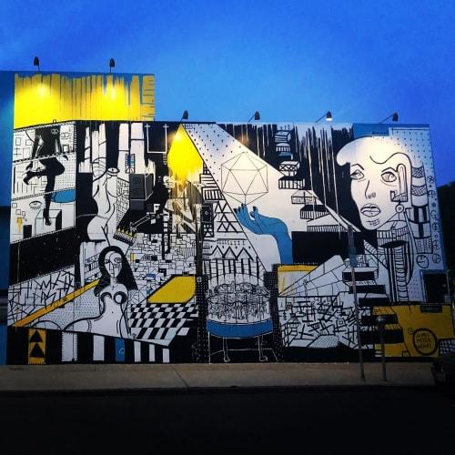 James Peter Henry - Murals and Street Murals