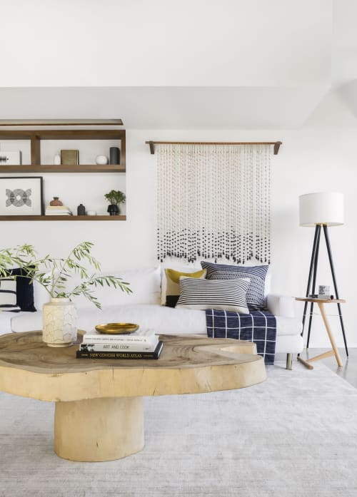Interior Design by Brady Tolbert seen at Private Residence, Los Angeles - Modern Organic Living Room
