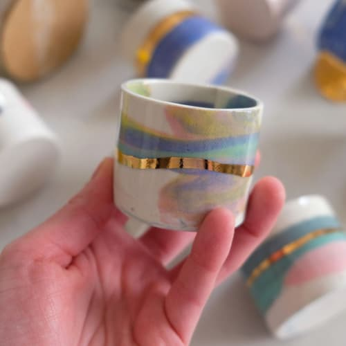 Cups by from:fran seen at Private Residence, Brooklyn - Aurora Espresso Cup