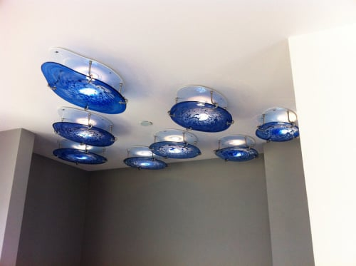 Pendants by Jess Wainer seen at Private Residence, San Francisco - Clouds