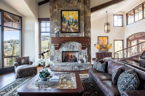 Paintings by Robert Moore seen at Private Residence, Park City - Paintings