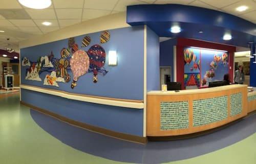 Public Mosaics by Cynthia Fisher seen at Boston Children's Hospital, Boston - Sky