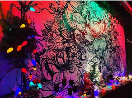 Murals by TMAmurals seen at Walden Bar, Nashville - Walden Bar