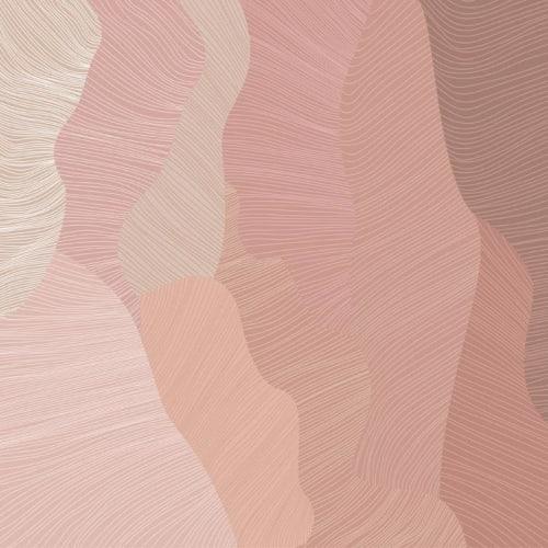 Wallpaper by Jill Malek Wallpaper - Reef | Coral