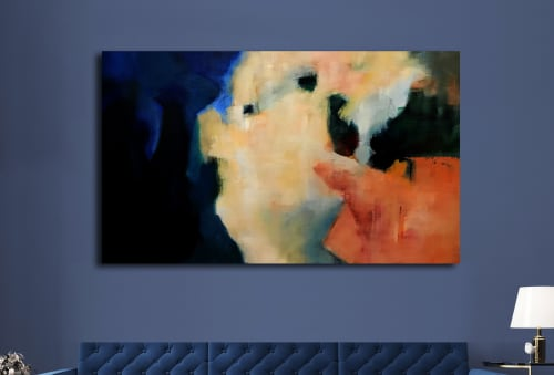 Paintings by Cecilia Arrospide seen at Private Residence, Lima - SOL Y SOMBRA