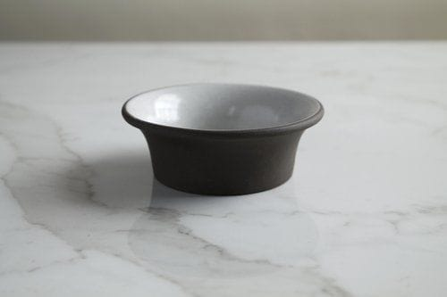 Tableware by Jono Pandolfi seen at Loring Place, New York - Rimmed Rice Bowl and Rimmed Ramekins