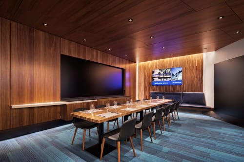 Interior Design by CORE architecture + design seen at McLean, McLean - The Social at Hilton Headquarters