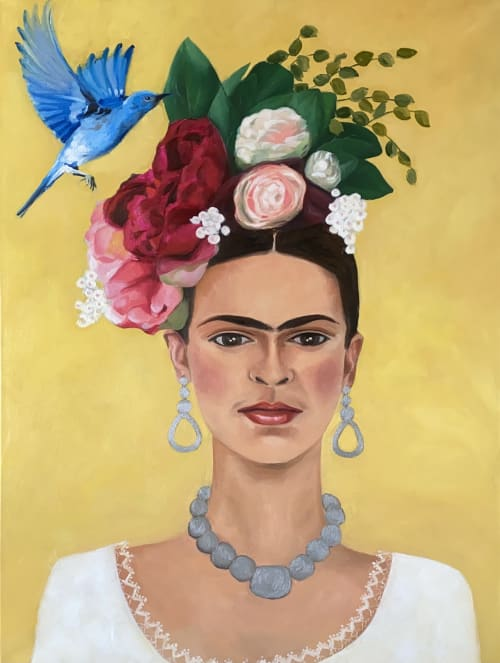 Macrame Wall Hanging by Xinh Art seen at Private Residence, Sydney - Frida Kahlo