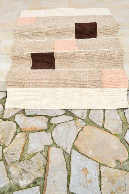 Rugs by Zuahaza by Tatiana seen at Creator's Studio, Bogotá - Curiti Fique Area Rug