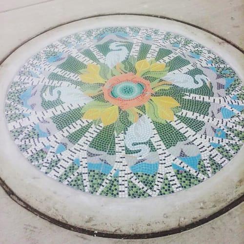 Public Mosaics by JK Mosaic, LLC seen at Bellingham, Bellingham - Sidewalk Art Mosaic