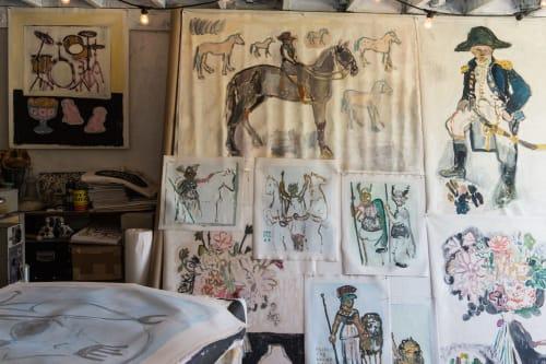 Anne-Louise Ewen - Paintings and Murals