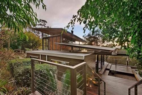 Architecture by CplusC Architectural Workshop seen at Private Residence, Bowen Mountain - House In The Bush
