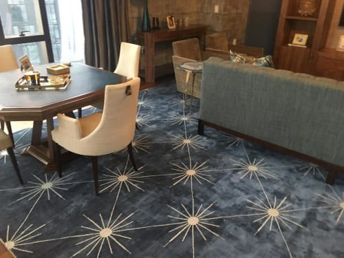 Rugs by MASTOUR Fine Rugs seen at Private Residence, New York - Star Rug