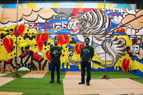 Doppel - Murals and Street Murals