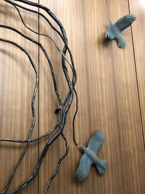 Sculptures by Claire Crowe Collection seen at 2401 Cedar Springs Rd, Dallas - Whirl