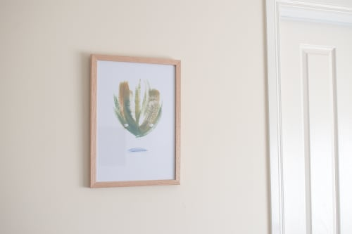 Paintings by Dancing Fox seen at Private Residence, Berwick - Levitating Lemongrass