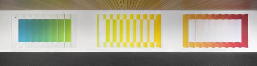 Art & Wall Decor by christopher derek bruno seen at Dolby Laboratories Inc, San Francisco - Interior installation 9 : per angusta ad augusta