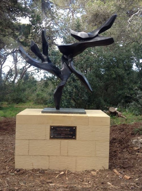 Public Sculptures by Hedva Ser seen at Malta - Tree of Peace