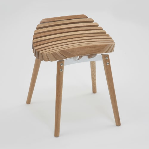 Chairs by Troy Backhouse at t bac design, Fitzroy - Ane stool