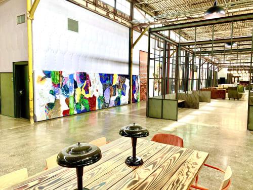 Wall Hangings by Leisa Rich seen at The Works -- Upper Westside Atlanta, Atlanta - Everyone Shines