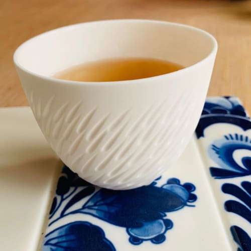 Cups by Sasha Wardell seen at Private Residence - White Teacup