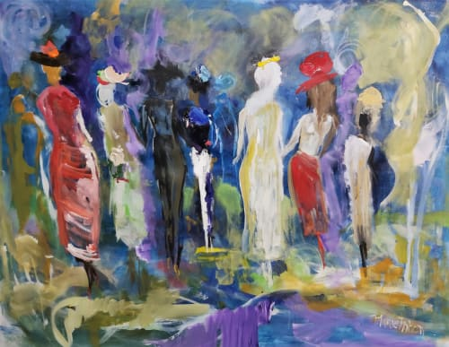 Paintings by Marie Manon Art seen at Calgary, Calgary - Tribute to Women of the World