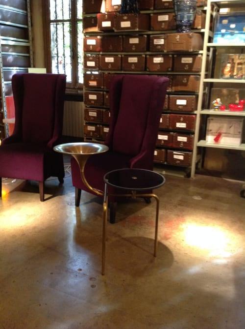 Tables by Roberto Giacomucci seen at Rossana Orlandi, Milano - Dizzy