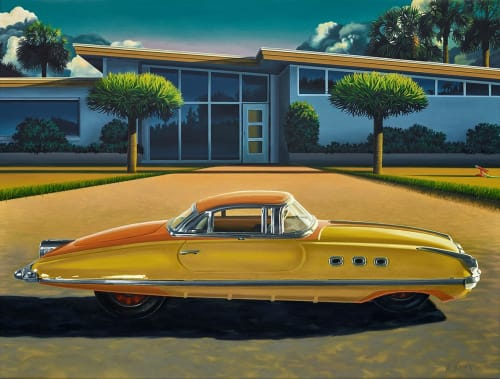 Paintings by ross jones seen at Private Residence, Napier - Turismo Packard