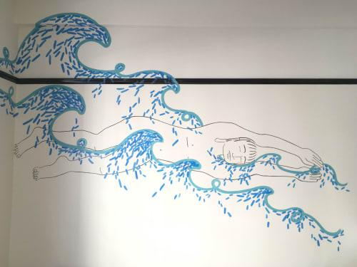 Kira Buckel - Murals and Paintings