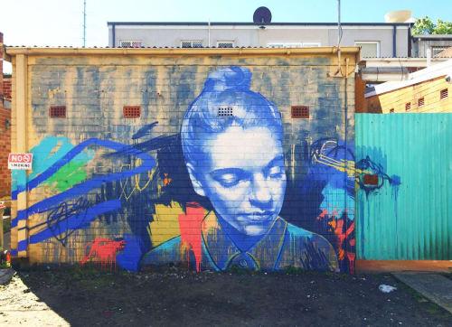 Claire Foxton - Street Murals and Murals