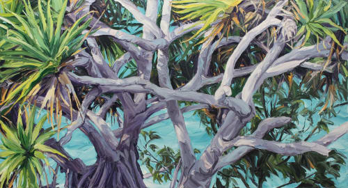 Paintings by Steve Tyerman seen at Private Residence, Gold Coast - Seascape Painting
