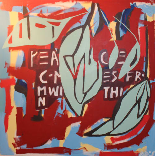 Lush | Paintings by Paula Gasparini-Santos