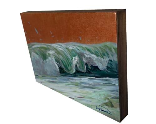 Ocean #26   Paintings by Lindsey Millikan (Milli)